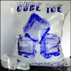 Serving Cube Ice