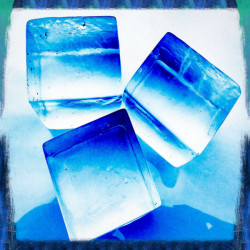 Crystal Ice Square 6x6x6cm